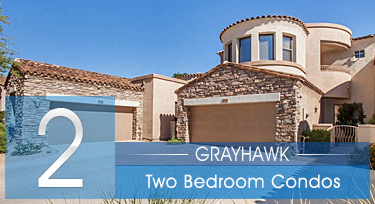 Two Bedroom Grayhawk Scottsdale AZ Condos for Sale